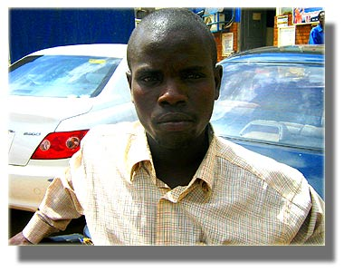 James Sentongo (bodaboda cyclist)