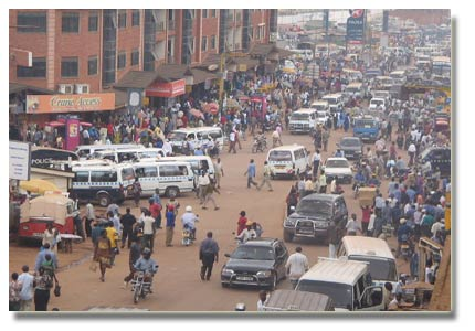 Minibuses (Kamunye) are a popular mode of transport in Uganda. With a reconfiguration of the urban and regional structure, a lot of the energy consumed by the transport sector can be saved