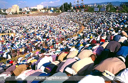 Half the population of Ethiopia are Moslems
