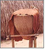 The drums at Kasubi