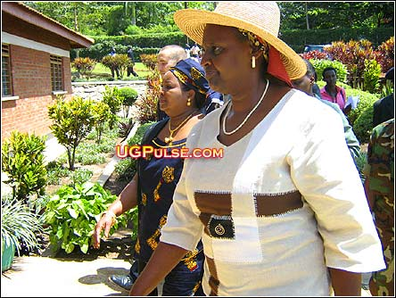 Uganda's first lady, Janet Kataaha Museveni, MP, is involved with Pentecostal Churches in the country