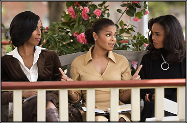 Tasha Smith, Janet Jackson and Sharon Leal in Tyler Perry's Why Did I Get Married?