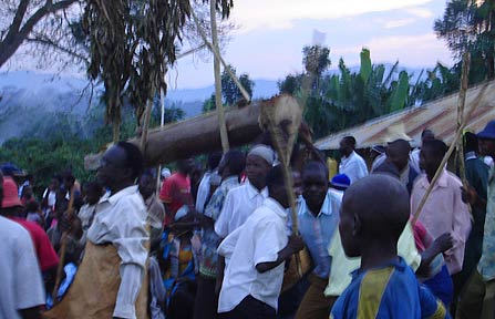 Amid merrymaking on the foothills of Mt.Elgon, impaalu candidates wait to become men