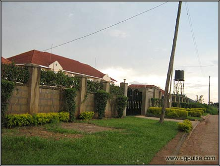 Upper income housing in Luzira is multiplying steadily