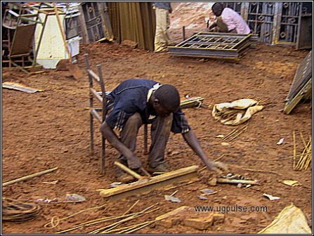 Skilled welders abound in Katwe
