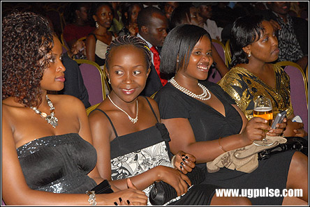 Some of the Ugandans who turned up for the movie's premiere in Munyonyo