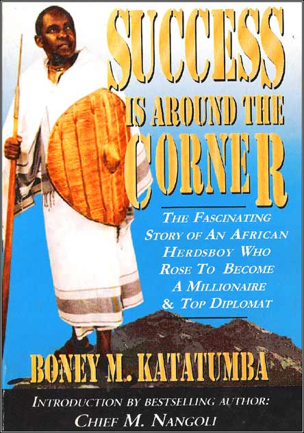 Boney M. Katatumba's book - Success is Around the Corner