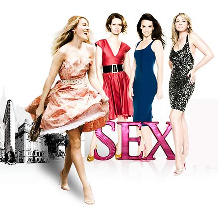 Sex and the City characters: Carrie, Miranda, Charlotte and Samantha