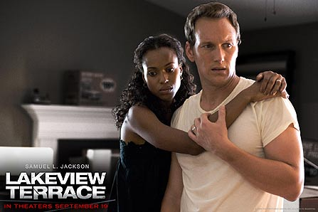 Chris and Lisa (Patrick Wilson and Kerry Washington) in Lakeview Terrace
