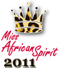 Miss African Spirit 2011: Contestant Tafadzwa Jambwa from Zimbabwe