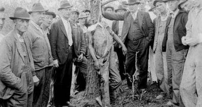 1936 lynching of Lint Shaw in Royston, Georgia