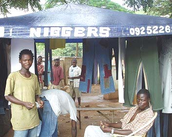 "A Hip Hop Clothing Store in Malawi Called ""Niggers"""