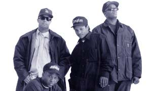 Hip-hop group N.W.A- Niggaz With Attitude