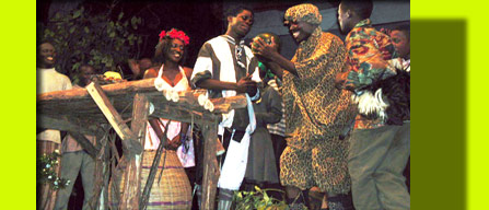 The gifting scene in the play <i>Lady Will You Marry Me?</i>