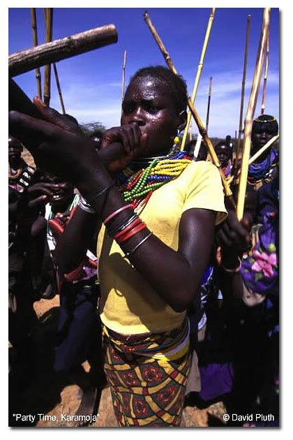 Party time, Karamoja