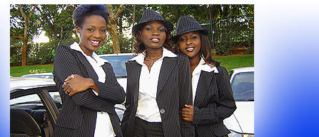 Blu*3: Cinderella Sanyu, Jackie Chandiru and Lillian Mbabazi.