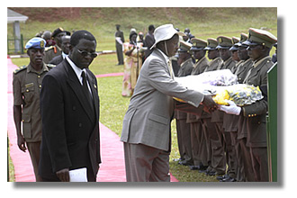 President Museveni remembers fallen heros at Kololo