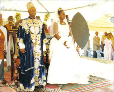 Photograph of King Iguru's wedding