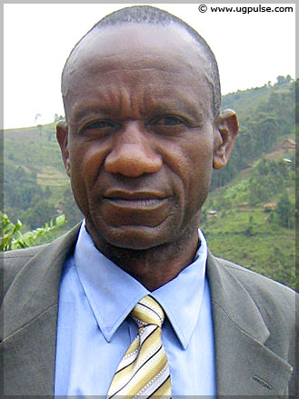 Israel Kikangi, Head Teacher, Nyaka AIDS Orphans' School