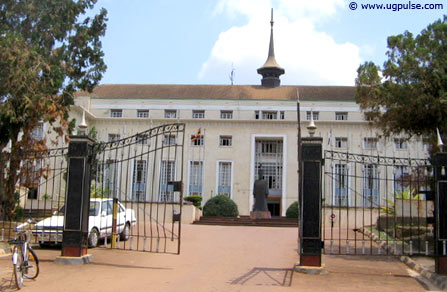 The Bulange building, where the offices of The Buganda Government are located
