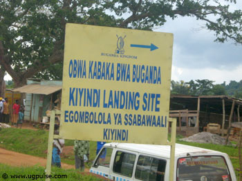 The Kingdom of Buganda is the landlord at Kiyindi landing site, Mukono district on the shores of Lake Victoria