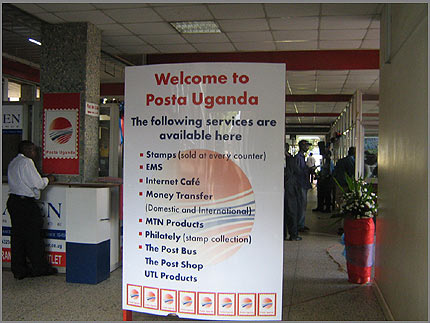 Posta customers enjoy services at Head office