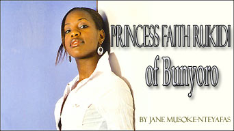 Princess Faith Rukidi of Bunyoro