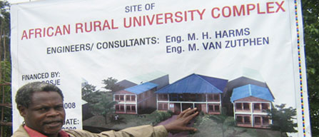 African Rural University for Women Opens