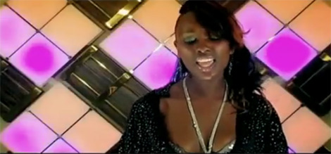 Leila Kayondo in Nkwagala music video.